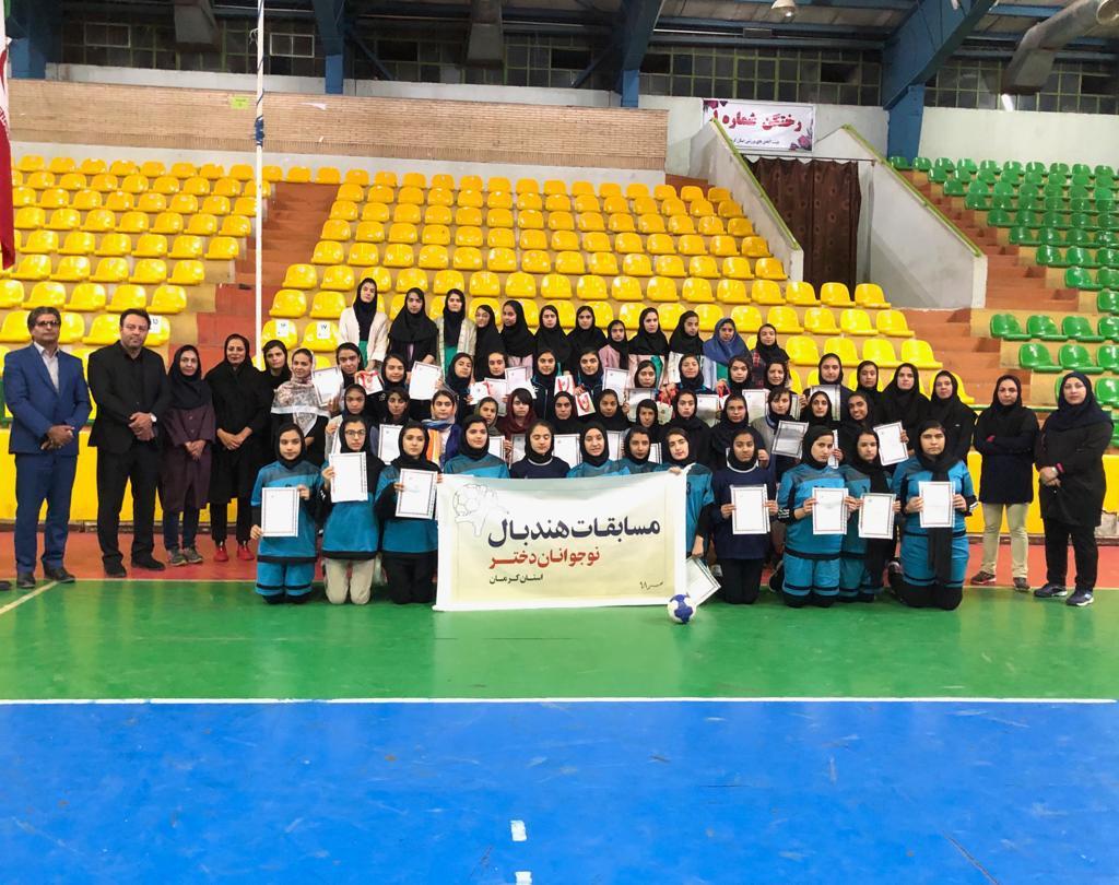 حضور تیم بسکتبال بانوان شهرداری کرمان در مسابقات دسته دوی کشور