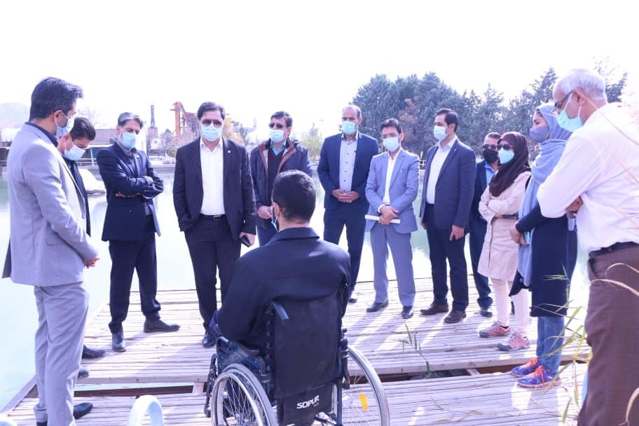 استفاده از ظرفیتهای موجود برای ارتقای ورزشهای آبی ازجمله قایقرانی در شهر کرمان